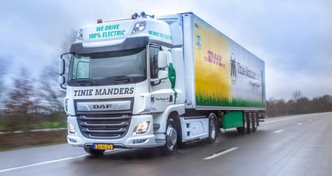 DAF'tan Tinie Manders Nakliye'ye CF Electric