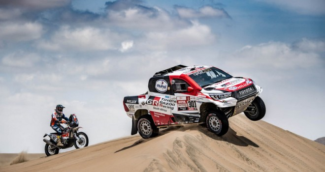 Toyota, Dakar Rallisi'ni Kazandı