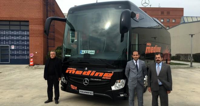 Yeni Tourismo dahil toplam 4 otobüs teslim etti