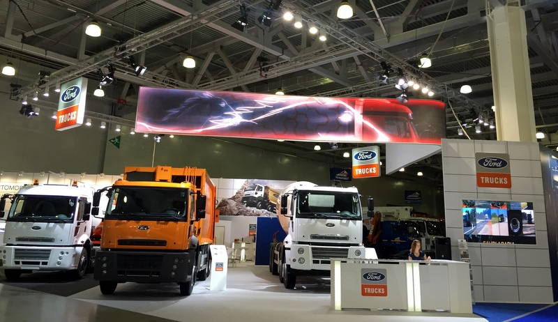 Ford Trucks Rusya'da gövde gösterisi yaptı