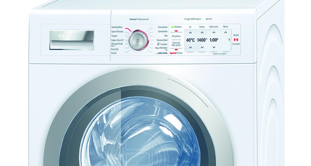 Bosch'dan enerji dostu çamaşır makinesi