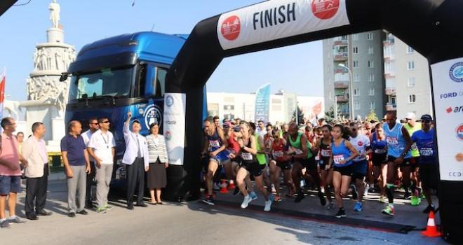 Ford Otosan Eskişehir Kurtuluş Yarı Maraton'u koşuldu