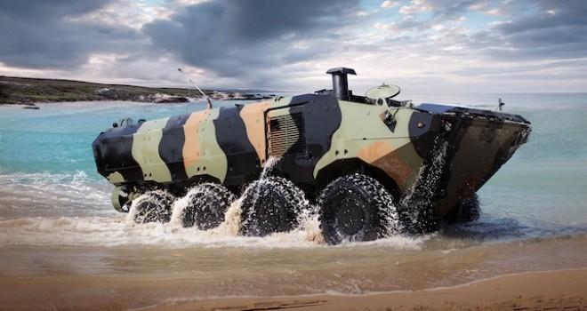 Iveco Savunma Araçları 8x8 amfibi, zırhlı araçlar üretecek