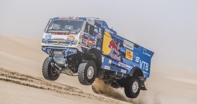 Goodyear lastikleri ile yarışan KAMAZ-master ekibi 2020 Dakar Rallisi'nde zirvede yer aldı