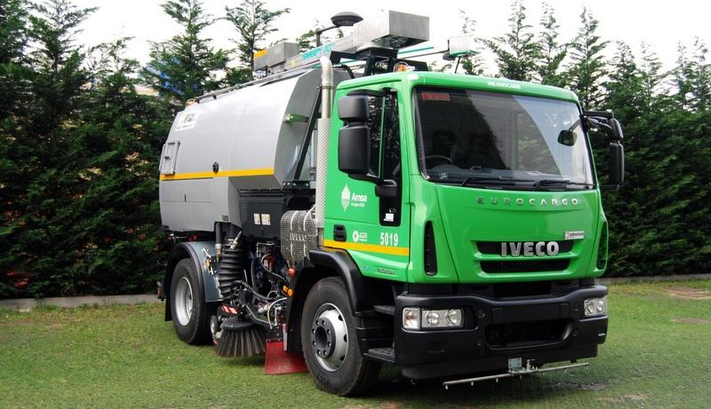 Iveco araçları Expo 2015'te kullanılıyor