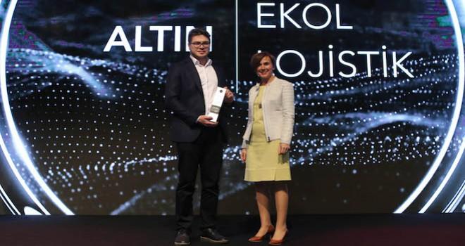 Ekol Lojistik'e sosyal medya yarışmasında birincilik ödülü