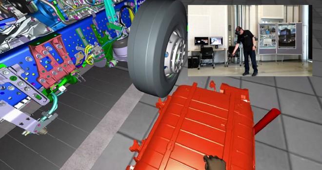 Mercedes-Benz Aksaray Fabrikası'ndageleceğin kamyonlarını tasarlıyor