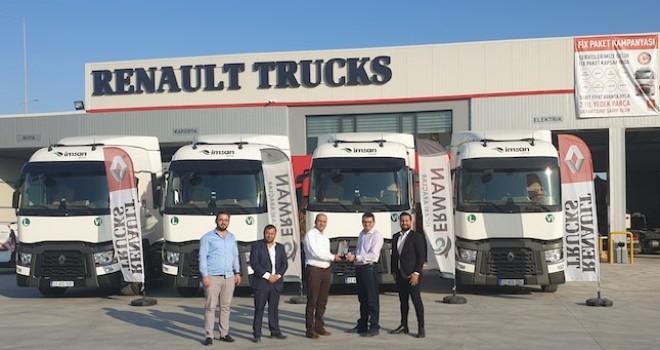 Renault Trucks'tan İmsan Group'a 8 adet T 460 çekici