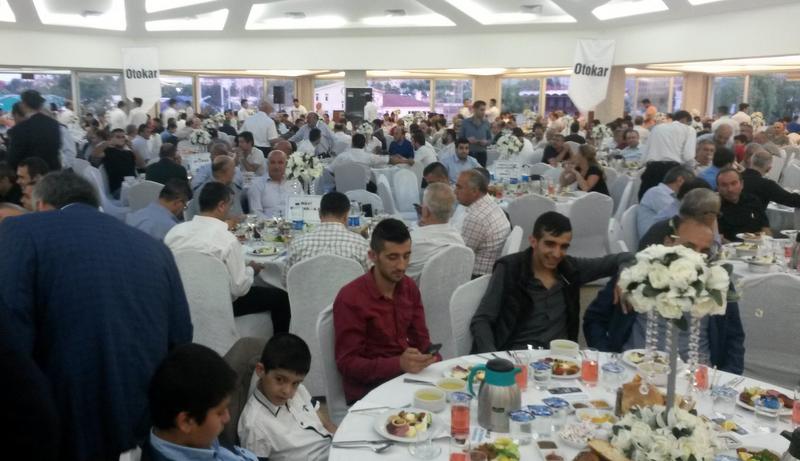 Otokar, İstanbul Halk Ulaşım üyeleri ile iftarda buluştu