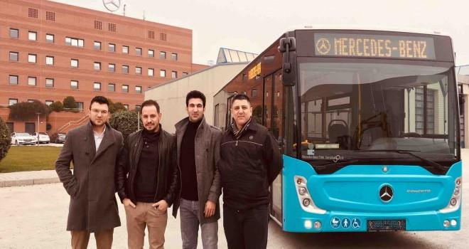 Mercedes-Benz Türk'ten  İstanbul Halk Otobüsü A.Ş'ye 2 otobüs teslimatı
