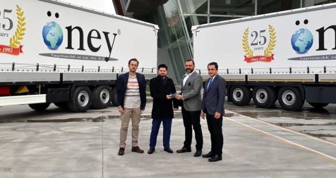 İzmir merkezli Öney Taşımacılık 25 adet treyler aldı