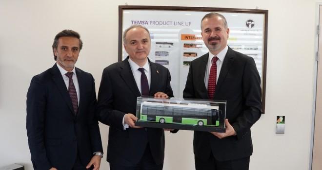 Bakan Faruk Özlü, TEMSAMD9 ElectriCITY'i test etti
