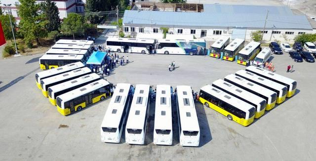 Balıkesir'e 21 adet Temsa otobüs daha teslim etti