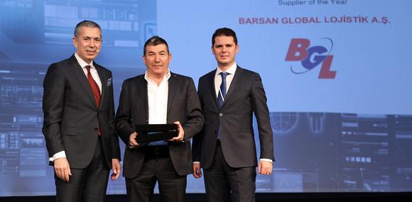 Barsan Global Lojistik'e Siemens Türkiye'den Ödül!
