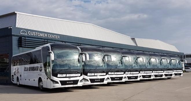 Özlem Diyarbakır ve Çankırı Özlem'in tercihi MAN otobüsler oldu