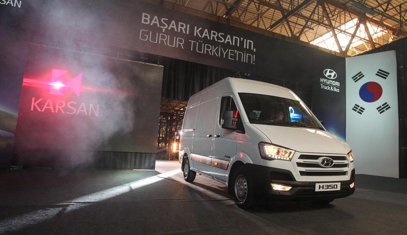 200 milyon euro yatırım yaptı, H350 hafif ticari aracın seri üretimine başladı