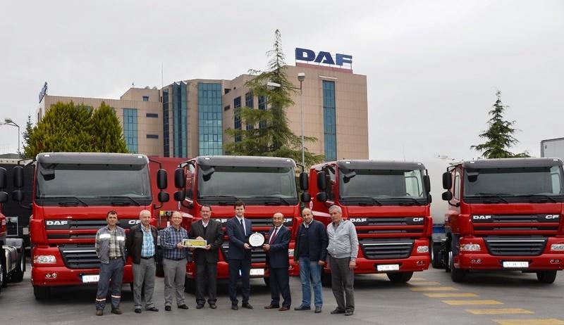 Demtrans'a 13 adet DAF