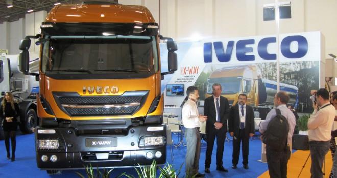 Iveco, Yeni Stralis X-WAY'ı Beton İzmir'de tanıttı