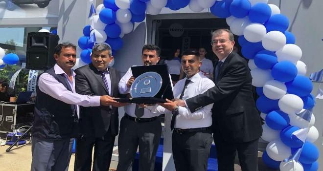 Iveco'nun Antalya yetkili servisi SAMKO'nun yeni tesisi açıldı