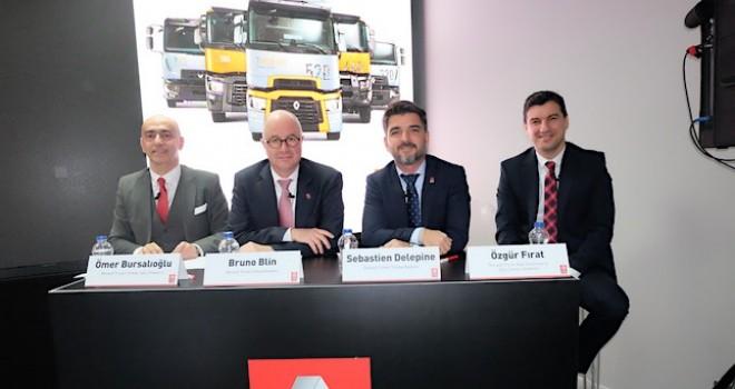 Renault Trucks 2019'u değerlendirdi, 2020 hedeflerini açıkladı