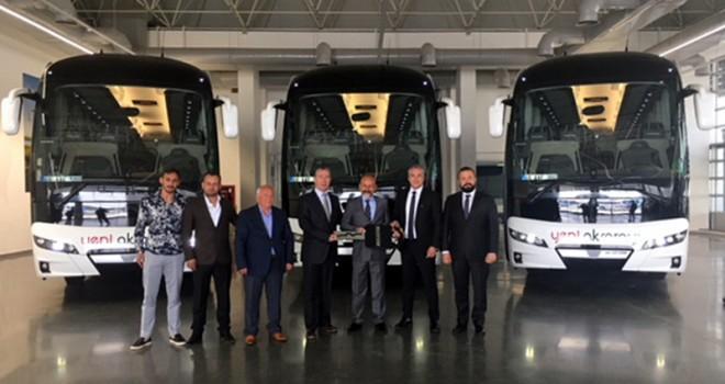Yeni Aksaray Seyahat tercihini NEOPLAN Yeni  Tourliner'dan yana kullandı