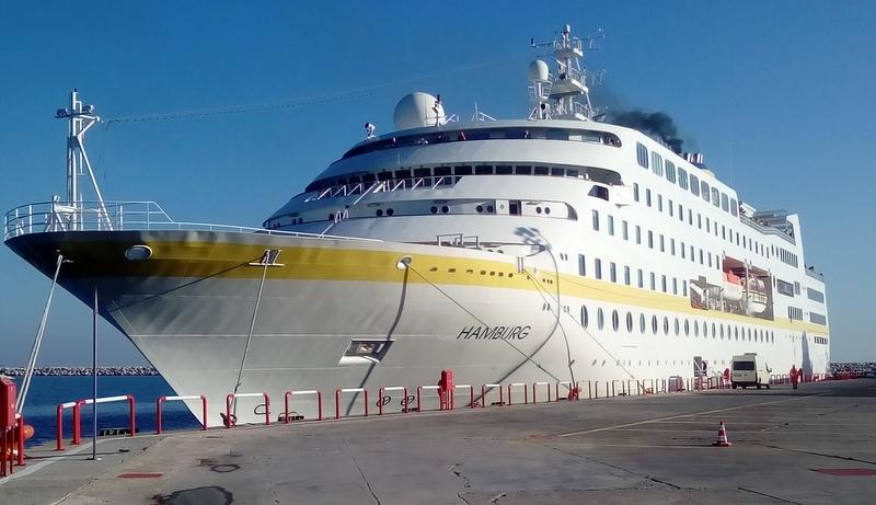Dev gemiler bu yıl Antalya'ya 168 bin turist getirdi