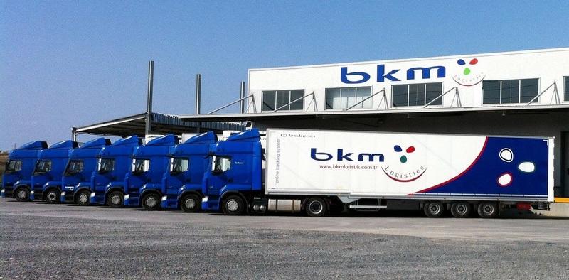 BKM Lojistik, İtalya'ya taşımacılık hizmeti vermeye başladı