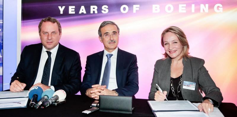 Boeing, Türkiye'nin uçakların üretimindeki rolünü artırıyor