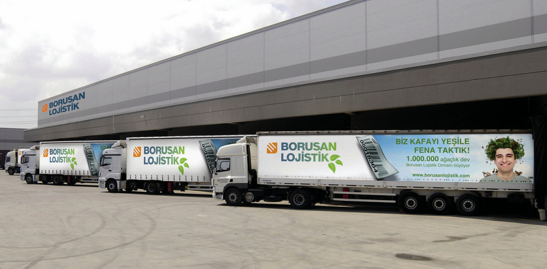 Borusan Lojistik, yılda 1 milyar 50 milyon euro ciro yapan Avrupalı lojistik devi ile işbirliği yaptı