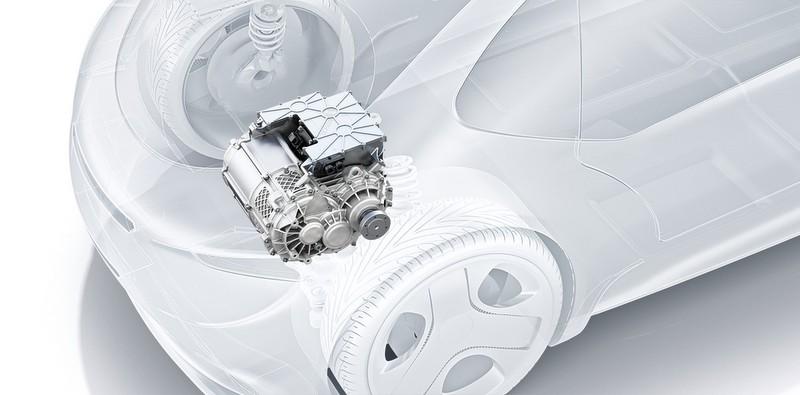 """Bosch'tan elektrikli otomobiller için """"start-up"""" niteliğinde güç aktarma sistemi"""