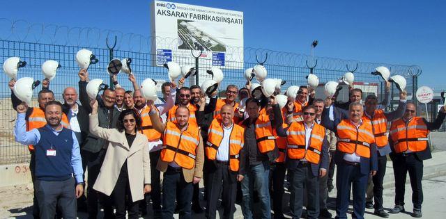 Brisa Aksaray Fabrikası 2018'de Üretime Başlayacak