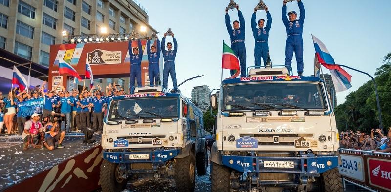 Rus KAMAZ – Master takımını Dakar ve Afrika Eko Rallisınde birinci yaptı