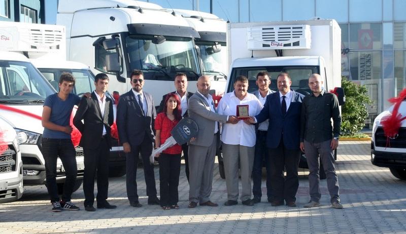 Erzurumlu Hınıslıoğlu Gıda filosuna 8 adet H350 kattı