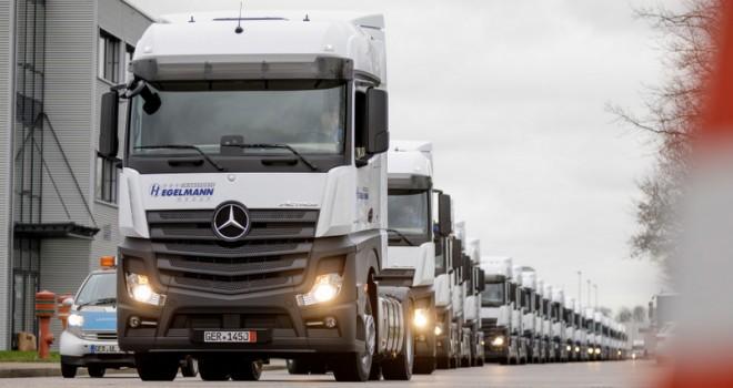Alman lojistik firması 500 adet Actros sipariş etti