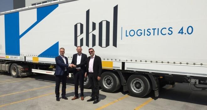 Ekol, Danimarka'nın güçlü lojistik firması ile işbirliği yaptı