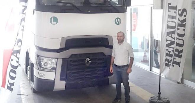 Şinasi Çiftçi Taşımacılık'ın tercihi Renault Trucks T 480 oldu
