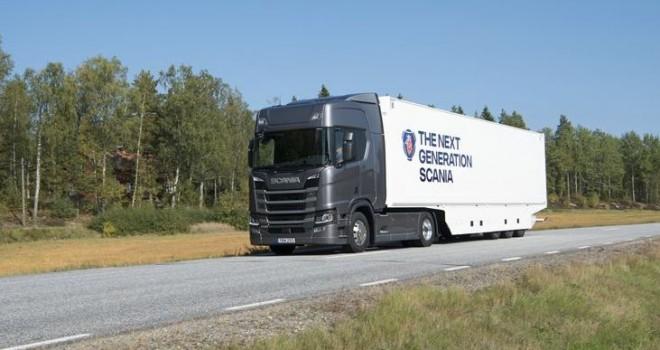 Scania'ya Yeşil Kamyon Ödülü