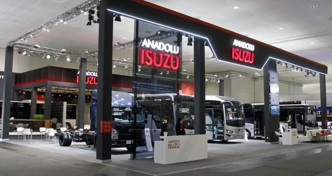 Anadolu Isuzu, IAA'da 5 yeni modelini tanıttı
