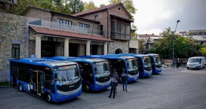 Otokar, Gürcistan'a otobüs teslimatına başladı