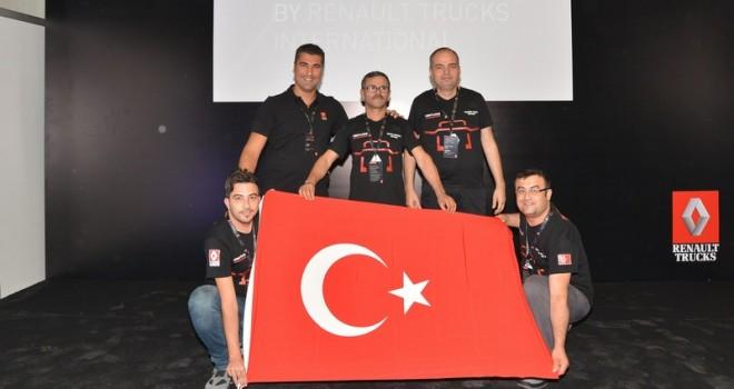 Renault Trucks'ın satış sonrası hizmetler yarışması START By International'a Türk takımları damga vurdu