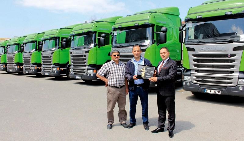 Trabzonlu nakliyecinin tercihi Scania oldu