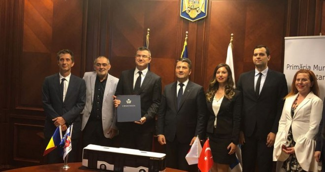 Anadolu Isuzu, Romanya'nın Köstence şehrine 104 adet Citiport teslim edecek