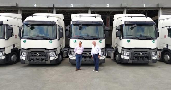 Kare Karayolu Taşımacılık filosuna 8 adet Renault Trucks T480 kattı