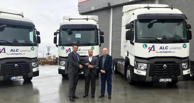 ALC Lojistik, filosunu Renault Trucks çekicilerle büyütmeye devam ediyor