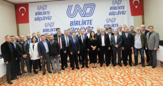 Birlikte Güçlüyüz mottosu ile UND Yönetimine aday oldular