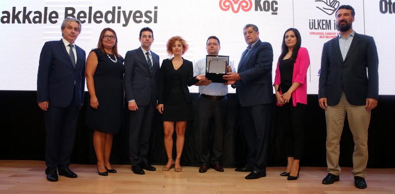 Çanakkale Belediyesi'ne Toplumsal Cinsiyet Eşitliği Ödülü