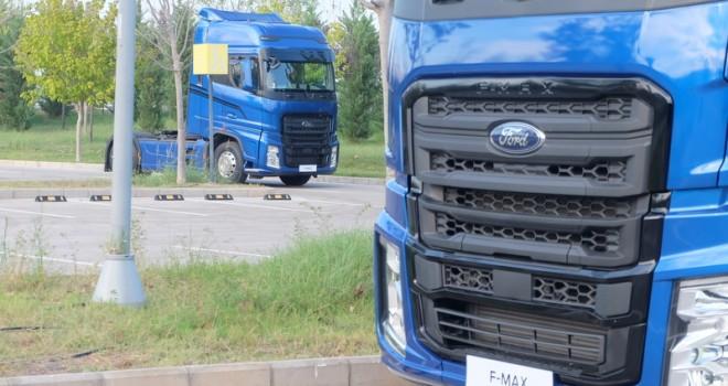 Ford Trucks F-MAX yola çıktı