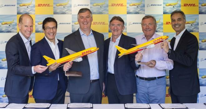 DHL Express filosunu 14  yeni Boeing 777 Freighter ile güçlendirdi