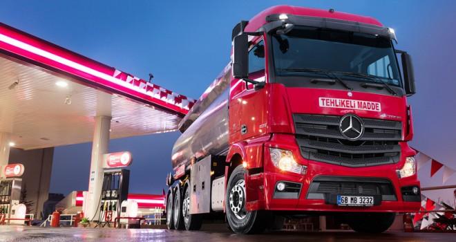 Actros 8x2 ADR'lilerin taşıma kapasitesi 33.5 tona çıktı