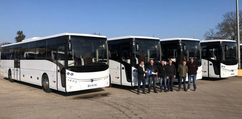 Ocak'ta Fransa'ya 22 adet otobüs teslim etti, hedefi 5 bin adedi aşmak